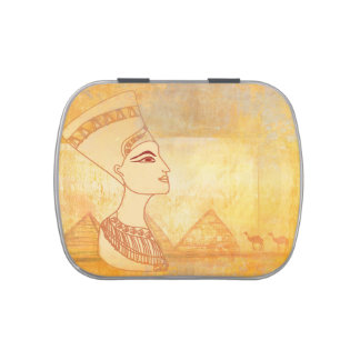 Egyptian queen Cleopatra Sweet Tin