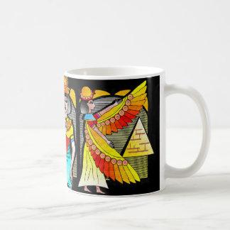 """EGYPTIAN QUEEN COFFEE MUG"