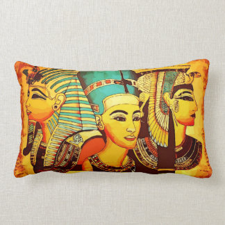 Egyptian Queen Nefertiti Lumbar Pillow