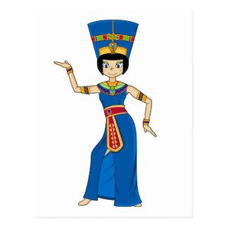 Egyptian Queen Nefertiti Postcard