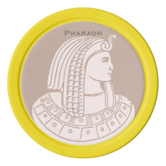 Egyptian Rose Pharaoh Pink Egypt Golf Ball Marker Poker Chips