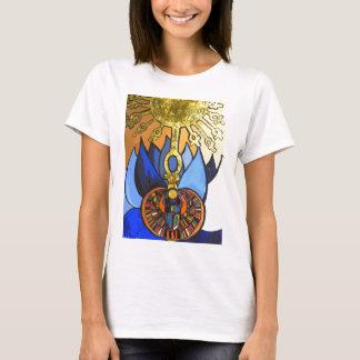 Egyptian Scarab Blue Lotus Aten Tee