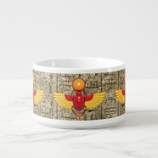 Egyptian Scarab Bowl
