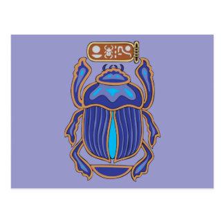 Egyptian Scarab Dung Dung Beetle Postcard