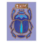 Egyptian Scarab Dung Dung Beetle Postcards
