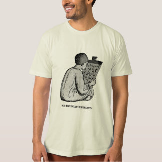 Egyptian Schoolboy - Antique Engraved Image T-Shirt