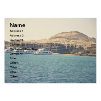 Egyptian seascape business cards