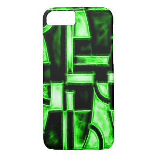 Egyptian Serpent Temple Fractal iPhone 7 Case