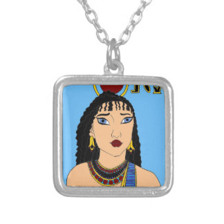 Egyptian Silver Plated Necklace