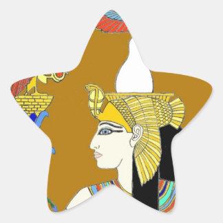 Egyptian Star Sticker
