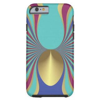 Egyptian Turquoise Iris Sword Lily Art Nouveau Tough iPhone 6 Case