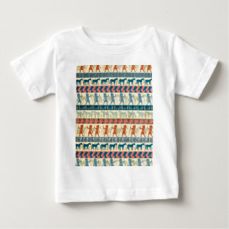 Egyptian Unicorn Pattern Baby T-Shirt