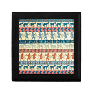 Egyptian Unicorn Pattern Gift Box