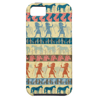 Egyptian Unicorn Pattern iPhone 5 Covers
