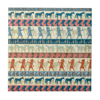Egyptian Unicorn Pattern Tile
