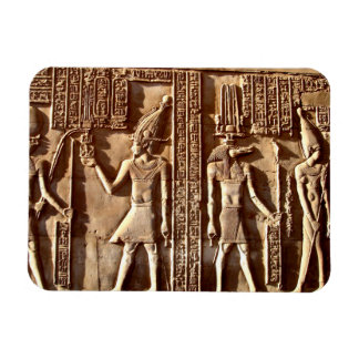 Egyptian Wall Carving Magnet