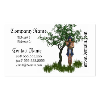 Egyptian Warrior Business Cards