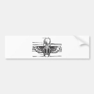 Egyptian Winged Scarab Bumper Sticker