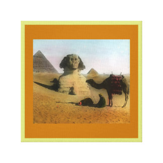 Egyptian Wrapped Canvas