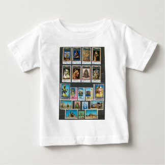 Egyptology on stamps baby T-Shirt