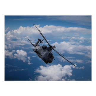EH101 Merlin Helicopter Poster