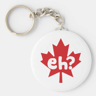 Eh Canadian Pride Basic Round Button Keychain