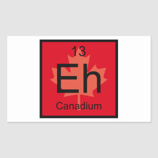 Eh Canadium Element Sticker
