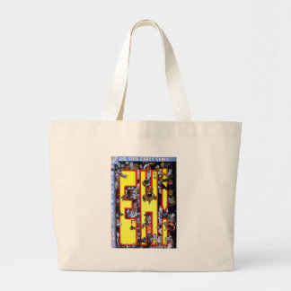 Eh! Large Tote Bag
