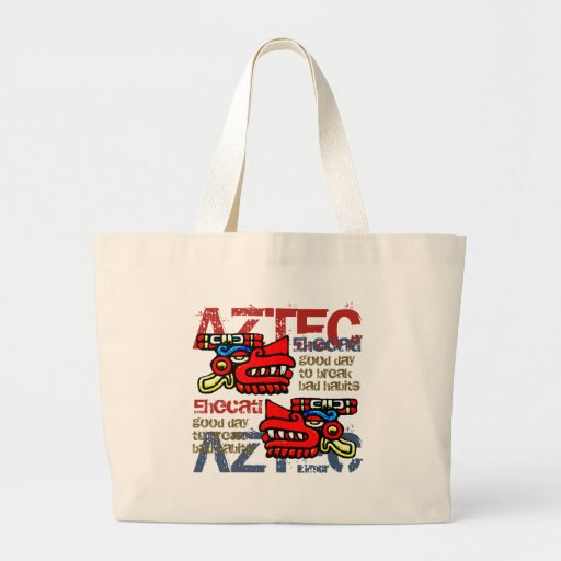 Ehecatl - Aztec Gifts & Greetings Canvas Bags