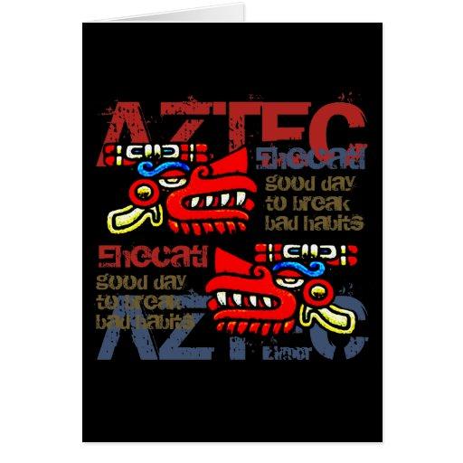 Ehecatl - Aztec Gifts & Greetings Greeting Card