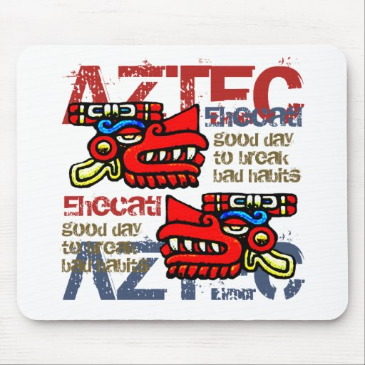 Ehecatl - Aztec Gifts & Greetings Mouse Pads