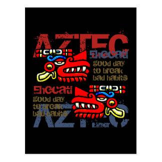 Ehecatl - Aztec Gifts & Greetings Postcard