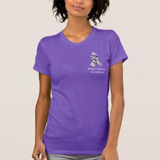 Ehlers Danlos Zebra Print Awareness Ribbon Shirt