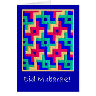 Eid Card - Islamic Design Quilt