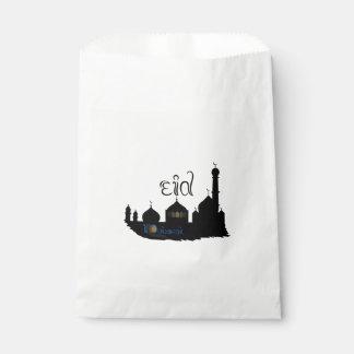 Eid Mubarak Mosque Silhouette - Favor Bag