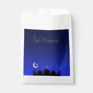 Eid Night Stars Mosque - Favor Bag