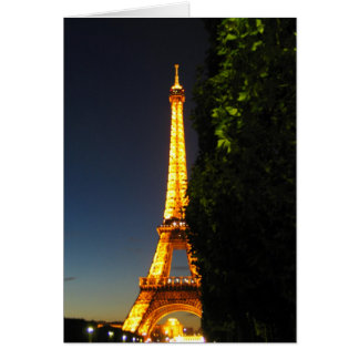 Eifel Tower Card