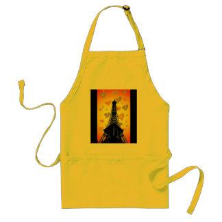 Eifel Tower Hearts Apron