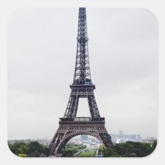 Eiffel Tower 4 Square Sticker