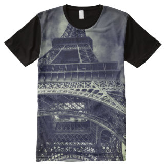 Eiffel Tower All-Over-Print T-Shirt