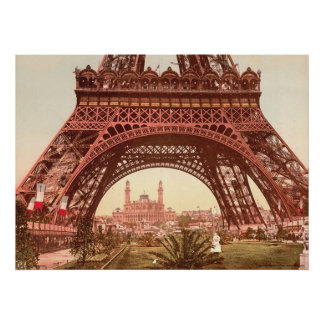 Eiffel Tower and the Trocadero Poster