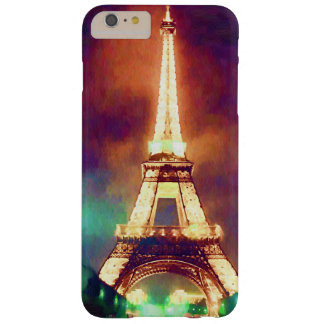Eiffel Tower at Night Barely There iPhone 6 Plus Case