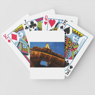 Eiffel Tower at Night Bicycle Playing Cards
