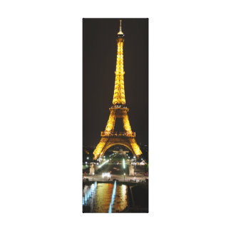 Eiffel Tower at Night Canvas