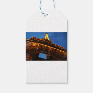 Eiffel Tower at Night Gift Tags