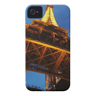 Eiffel Tower at Night iPhone 4 Case