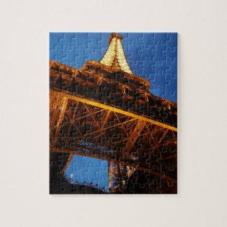 Eiffel Tower at Night Jigsaw Puzzle