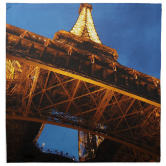 Eiffel Tower at Night Napkin