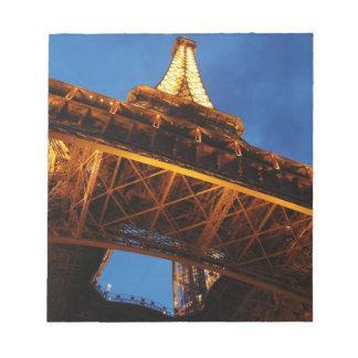 Eiffel Tower at Night Notepad