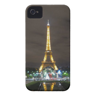 Eiffel Tower at Night, Paris iPhone 4 Case-Mate Cases